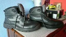 Work Boots Solid Synthetic Shoes for Men