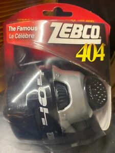 ZEBCO 404 SPINCASTING REEL 15LB Test Clam Pack New Sealed w bite alert