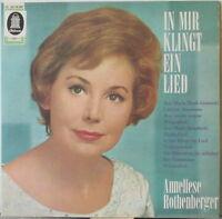 ANNELIESE ROTHENBERGER In Mir Klingt Ein Lied LP on EMI Electrola Germany