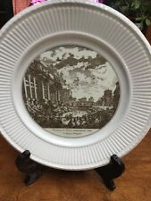 """Wedgwood Piranesi Plate  """" Side View Of The Trevi Fountain"""" 10.5"""""""