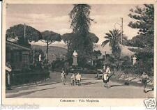 cl 33 1940 CATANZARO Villa Margherita - viagg - Ed. Spinoso Catanzaro