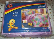 Teen Looney Tunes Tweety Bird Full Bed Skirt New