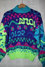 Sport Obermeyer Womens Colorful Warm Winter Ski Sweater Size Medium