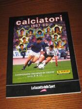 ALBUM CALCIATORI PANINI GAZZETTA DELLO SPORT 1987/88