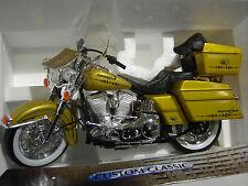 MOTO  HARLEY-DAVIDSON CUSTOM CLASSIC 1/10 GUILOY 17506 moto miniature collection