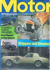 MOTOR Magazine - February 11 1978 - Test: Toyota Celica