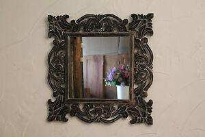 Spiegel Barock schwarz