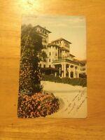 Hotel Raymond Pasadena CA vintage postcard - 1909 postmark - OLD!