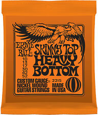 Ernie Ball Skinny Top Heavy Bottom Nickel Wound 10 - 52 Electric Guitar Strings'
