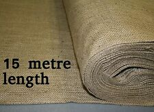 18oz Natural Hessian Material 1.8m wide x 15 metre length
