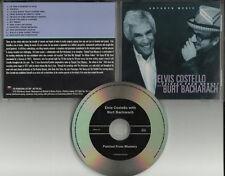 ELVIS COSTELLO & BURT BACHARACH Painted ADVNCE PROMO CD
