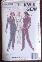 KWIK SEW Sewing pattern no. 2456 Ladies PANT SUIT size XS S M L XL UNCUT
