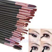 1 Set Pro Makeup Powder Foundation Cosmetic Eyeshadow Eyeliner Lip Brushes 20Pcs