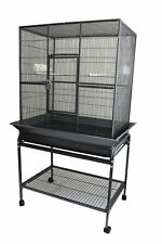"32x21"" Flight Cage w/Seed Guard & Stand for Bird Parrot Dove Pigeon Sugar Glider"
