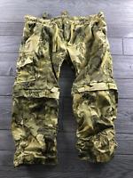 Gramicci Women's Capri Pants Cotton Cargo Camouflage  Pockets Low Rise Zip 8