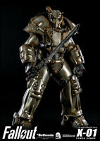 Fallout X-01 Power Armor Bethesda 1/6 Scale Action Figure Threezero In Stock