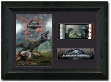 Jurassic World Fallen Kingdom Stunning framed 35 mm Film Cell Display S3