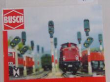 Signal Bausätze ohne Funktion - Atrappen - 12 Stck. - Busch 1:160 -  5850  #E
