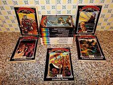 LA COMPAGNIA DELLA FORCA SERIE COMPLETA 1/18 GEIS 1977 EDICOLA+ADESIVI+CARTOLINE