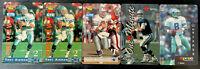 Lot of 5 Vintage Troy Aikman Phone Cards - 1994-1997 - HOF QB Dallas Cowboys NM+