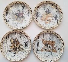 4 Bradford Exchange Collector Plates Native American Indian.By Diana Casey .