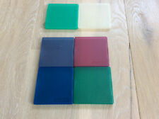 """6 x hinged plastic cases for single 3.5"""" floppy disks/diskettes"""