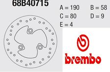 Disco freno BREMBO Serie Oro ANT Atala 50 HACKER AT 12 96 >