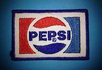 Rare Vintage Pepsi Cola NASCAR Sponsor Jeff Gordon Hat Jacket Patch Crest