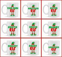 MU50 tante Elf Cadeau Tasse Noël Secret Santa Cadeau Stocking Filler