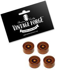 Speed Knob transparent amber BOSTON Potiknopf für US-Poti-Schaft hatbox