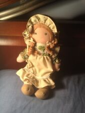 Vintage Holly Hobbie Amy Doll 1970s Knickerbocker Cloth 8.5 inches