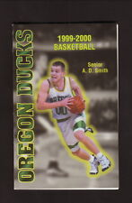 1999-00 Oregon Ducks Basketball Schedule--Bi-Mart
