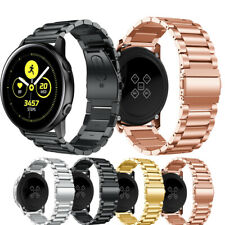 For Samsung Galaxy Watch Active Strap Steel Watch Band