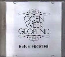Rene Froger-Ogen Weer Geopend Promo cd single