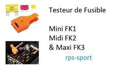 Testeur de fusible automobile tri format RENAULT 19 I