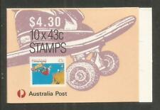 Australia 1990 Sports 43c booklet-Attractive Topical (1119a/Sb70) Mnh