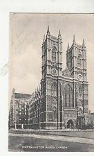 BF19225 westminister abbey london united kingdom front/back image