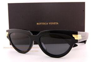 Brand New Bottega Veneta Sunglasses BV 1035/S 001 Black/Grey For Women