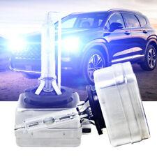8000K D3S Globes HID Bi-Xenon Headlights Bulbs For Hyundai Santa Fe 2010-2017