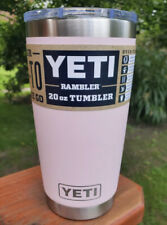Yeti Ice Pink - Limited Edition Color 20oz Rambler - Authentic- MagSlide Lid