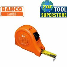 Bahco Tape Measure 5M 16ft Blade Width 19mm Metric and Imperial MTG-5-19-E