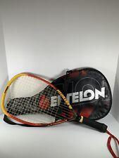 Ektelon Ripstick Titanium Long Body Racquet Power Level 1250 w Case, Wall Beater