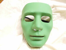 HIP HOP JABBAWOCKEEZ GREEN PVC FACE MASK FANCY DRESS HALLOWEEN COSTUME PARTY