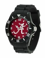 Alabama crimson Tide NCAA Men's Black Sparo Spirit Watch