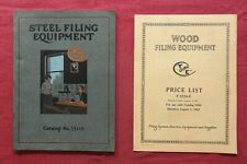 """1922 Yaman & Erbe Co. """"FIRE-PROOF SAFES & FILING CABINETS"""" ASBESTOS ROCHESTER NY"""
