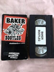 Vintage 1999 Baker Bootleg Skateboard Video VHS