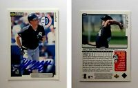 Jeff Abbott Signed 1998 Collector's Choice #62 Card Chicago White Sox Autograph