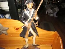 Vintage 1960's Sexton Continental Army Solider Metal Wall Plaque