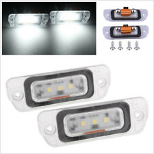 2 x White LED License Plate Light For Mercedes-Benz AMG ML GL R Class W164 W251