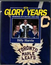 Glory Years Signed Toronto Maple Leafs Book x 6 Mahovlich Sittler Ullman Shack!